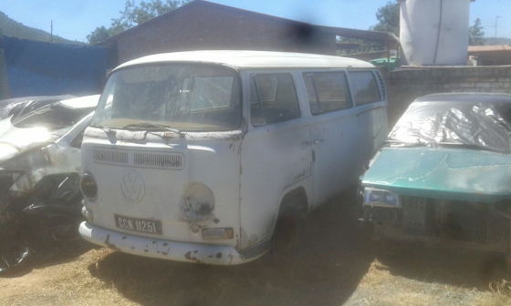 VW kombi bay window