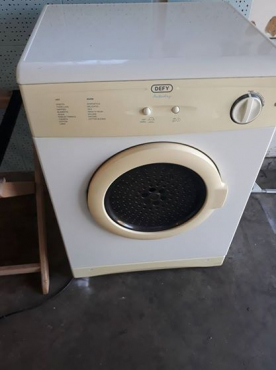 Defy 5kg Tumble dryer.