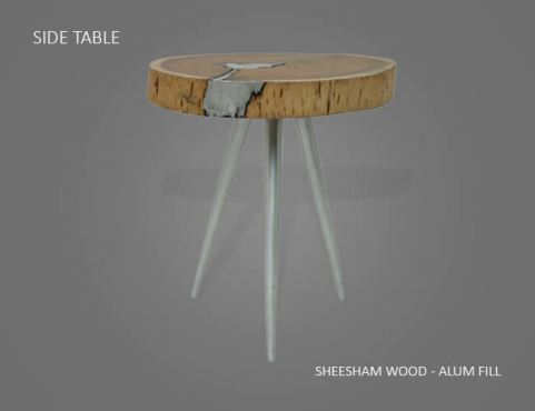 Molten Wood Furniture at Aglow Exports Inc.