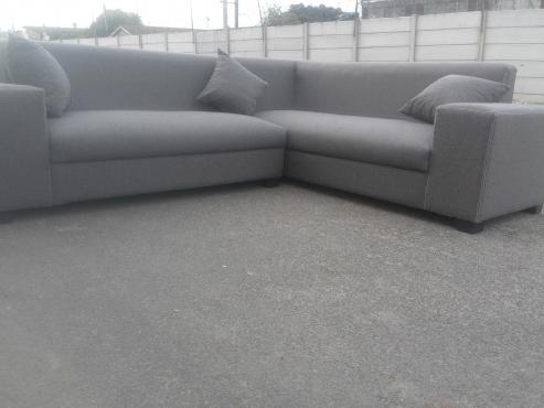 new stunning grey L shape