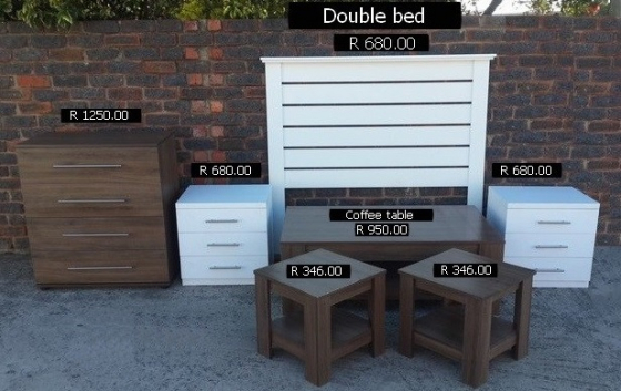 Headboards: Bedside tables: see other furniture
