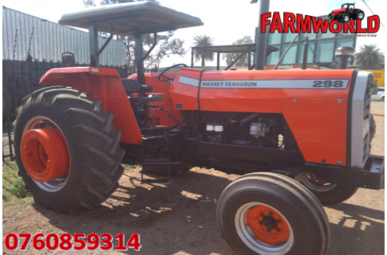 Red Massey Ferguson (MF) 298 2x4 Pre-Owned Tractor