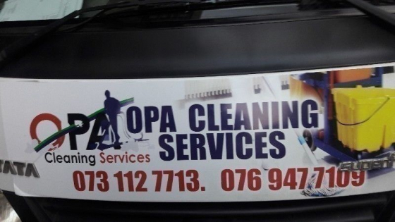 opa cleaning services special on pest control