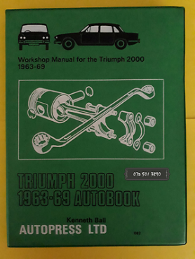 Triumph 2000 1963-69 - Autobook - Workshop Manual - Kenneth Ball.