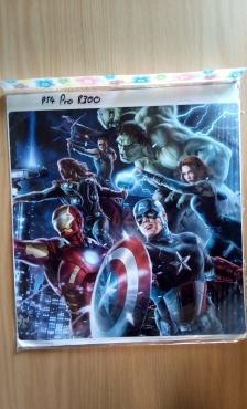 PS4 Pro Avengers Skin
