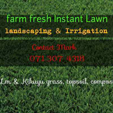 Instant lawn & landscaping design call 0713074318