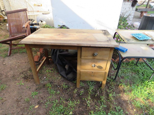 Old table and Desk
