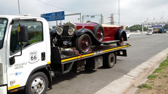 Car Transport Ellisras to PTA.