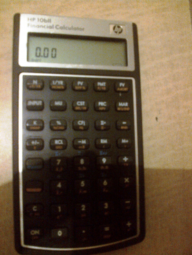 hp 10bii financial calculator for sale junk mail