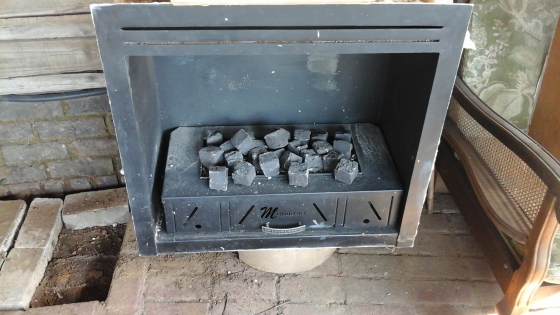 gas fire plase
