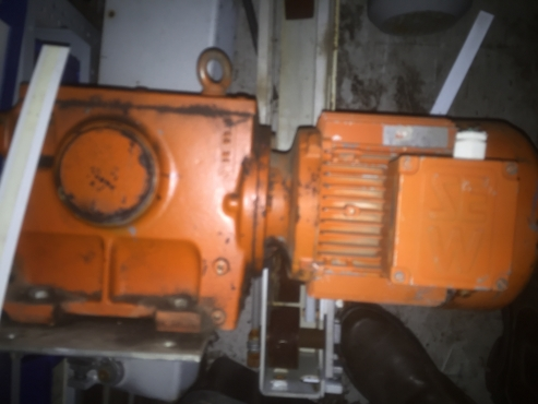 SEW 3 phase motors with gearboxes from 0.25KW to 3KW for sale (2nd hand)