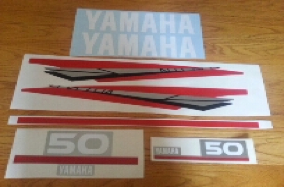Yamaha two stroke outboard graphics