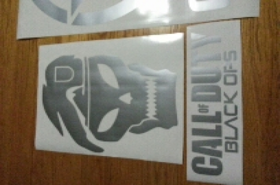 Call of duty black ops decals stickers graphics