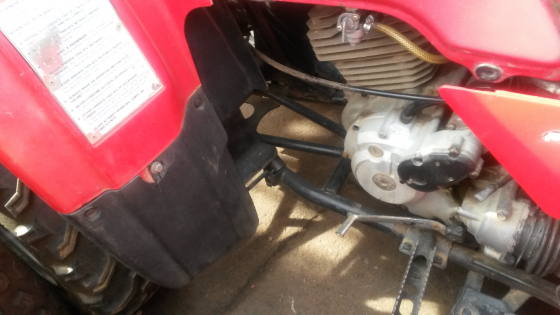 Honda Quadbike 250 cc Engine wanted and person to fit