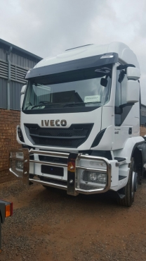 New & Demo Iveco Trakkers 440 6x4 Truck Tractors Single Reduction available in high roof & low roof