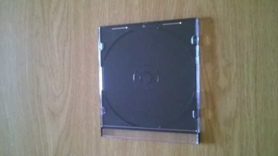 Slimline CD / DVD cases