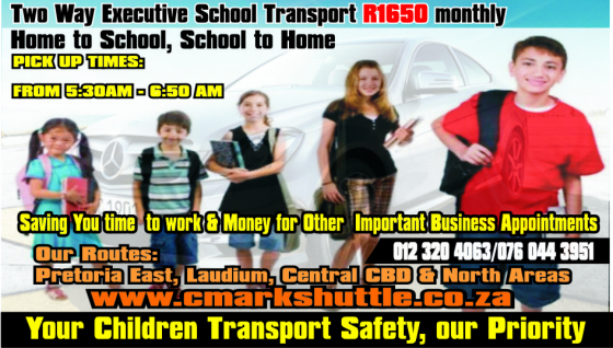 Executive School transport for Diplomat's Children