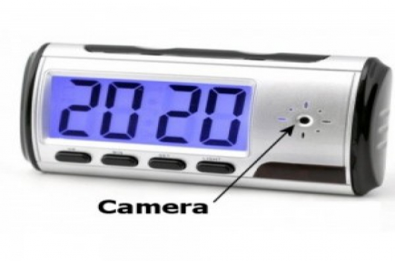 New Digital Spy Clock Security Hidden DVR Camera Motion Detector
