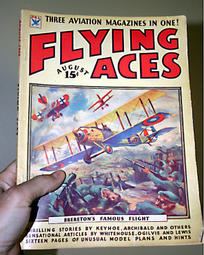 Flying Aces - Aug 1934