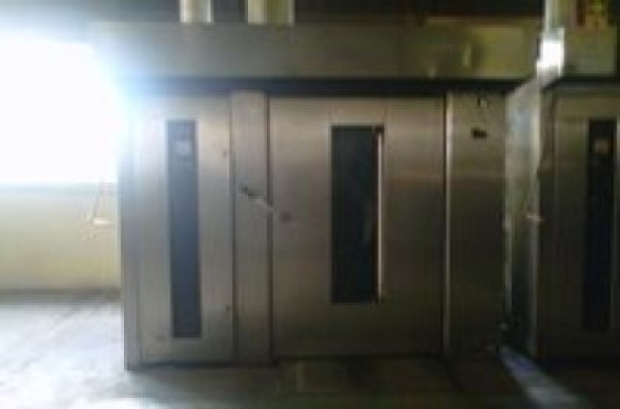 240 LOAF ELECTRIC ROTARY OVEN FULLY RECONDITIONED