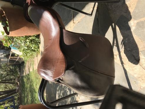 Old Stuben 15.5 saddle for sale
