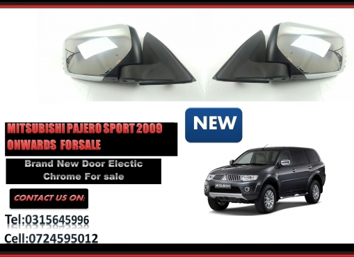 Mitsubishi Pajero sport Brand New Door Mirror Electric Chrome for sale price:R1295