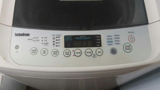 Lg 13kg Turbo Drum Top Loader Washing Machine Buy Used