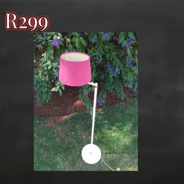 Pink desk lamp for sale