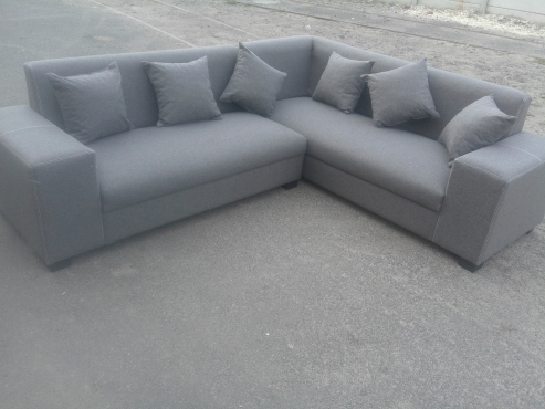 brand new quality corner lounge suite L shape
