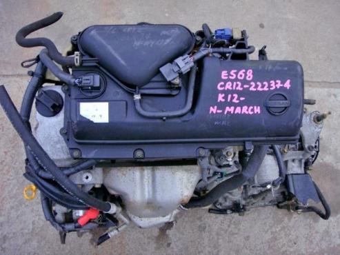 NISSAN CR12 Engine A
