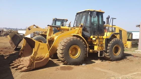 CAT 966H frontend loader