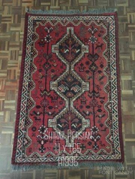 Shiraz persian rug