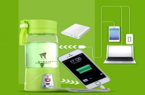 Portable Mini Electric Juicer/Blender Cup USB Recharging