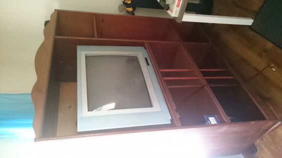 Book case, Tv Cabinet and L shaped computer stand