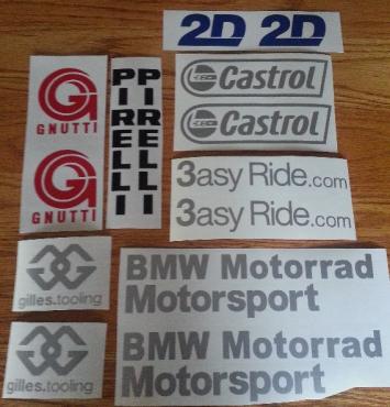 Bmw Motorrad Stickers Kamos Sticker - Bmw motorrad motorsport decals