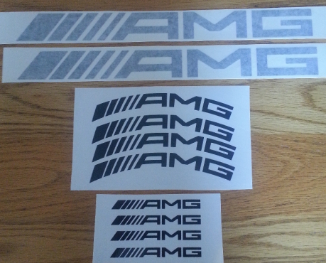 AMG mercedes decals stickers graphics