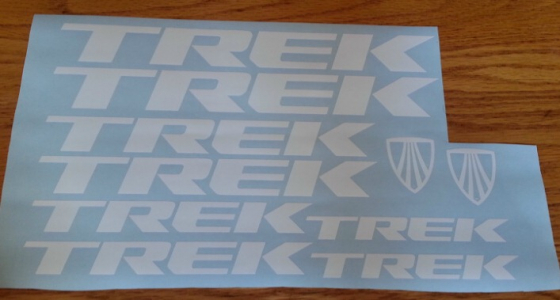 Trek decals graphics - Frame and Rim sets