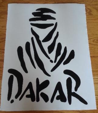 Dakar decals graphics