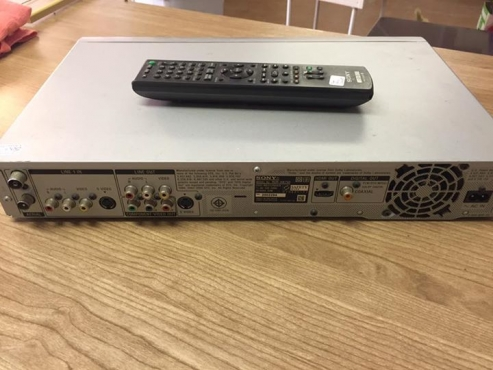 sony dvd player with internal hardrive