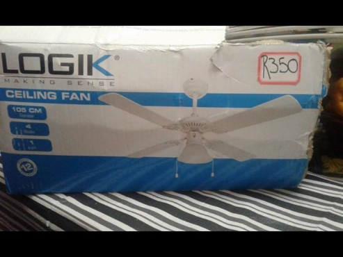 Ceiling fan for sale.