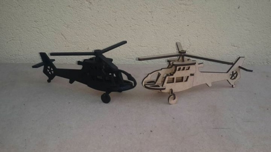 Little wooden helicopters