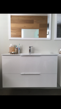 Brand new modern bathroom cabinets