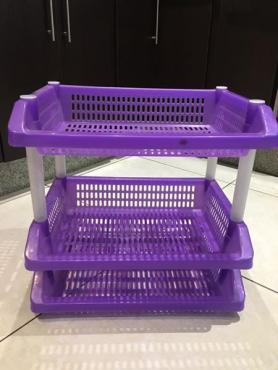 Plastic veggie baskets