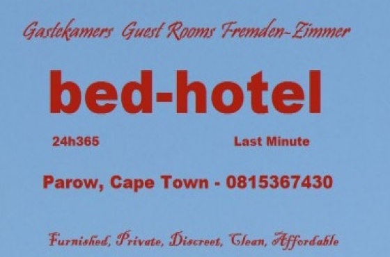 Rooms are R200 or R250 en-suite, for the first hour or up to one hour.