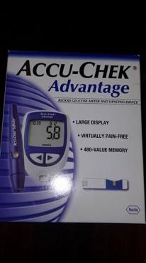 Blood glucose meter.