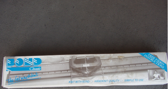 Bond Knitting Machine - Classic - as New in original box with