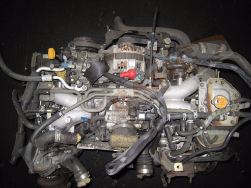 SUBARU -EJ20 2.0L TWIN TURBO EFI Engine ( 6 Bolts ) -Aluminium Intake Manifold