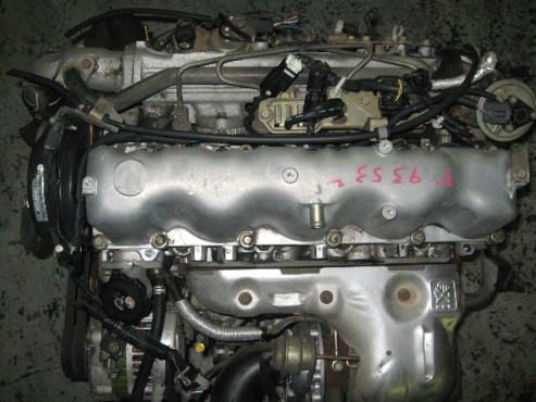 MAZDA 2.5 TD WL COMPLETE ENGINE