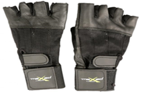 WEIGHT LIFTING GLOVES LEATHER / SPANDEX - CLEARANCE SALE
