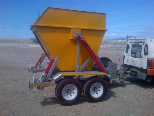 Mini Skip Bins with Trailer Combo's